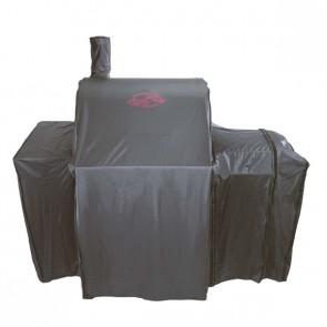 Afdekhoes voor Char Griller Wrangler met side fire box en voor Smoking Pro