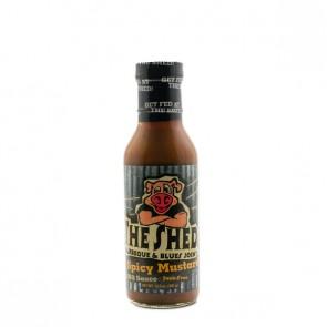 The Shedd Spicy Mustard BBQ sauce